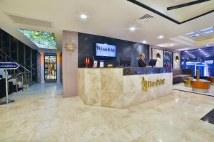 The lobby or reception area at Four Sides Taksim Lion Hotel&Spa