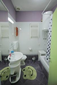 Koupelna v ubytování Lillys Cozy Apartment