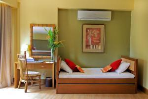 A seating area at Boracay Tropics Resort Hotel