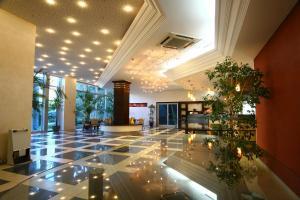 Fuajee või vastuvõtt majutusasutuses Hotel Montenegro