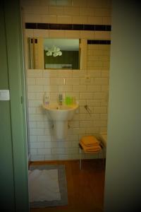 A bathroom at B&B Compagnons11