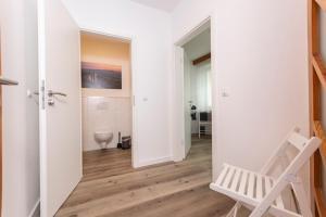 Ein Badezimmer in der Unterkunft Apartment-Haus Gundelfinger