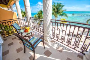 A balcony or terrace at Panama Jack Resorts Playa del Carmen All Inclusive