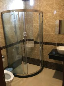 A bathroom at Phương Ly Ly