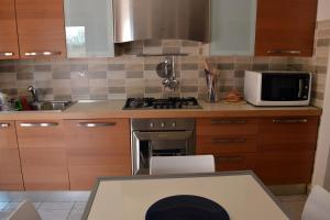Cucina o angolo cottura di Charlie Blue apartment