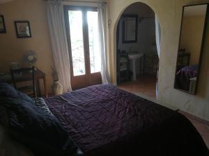 Un ou plusieurs lits dans un hébergement de l'établissement Le Mas de Canteperdrix
