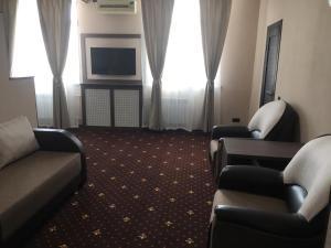 Гостиная зона в Отель Плаза