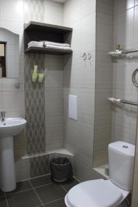 Ванная комната в Отель Плаза
