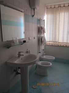 A bathroom at Albergo Little Garden