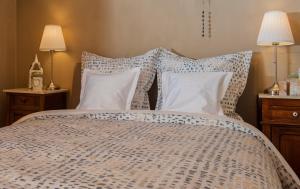 Кровать или кровати в номере B&B Tspijker