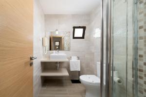 A bathroom at Quinta das Andorinhas