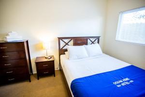 Un ou plusieurs lits dans un hébergement de l'établissement Ocean Park Hotel