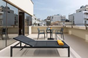 A balcony or terrace at Ibis Styles Heraklion Central