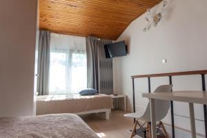 Krevet ili kreveti u jedinici u objektu Apartman Zagreb Maksimir