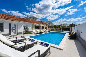 The swimming pool at or close to Villa Mare - with HEATED POOL