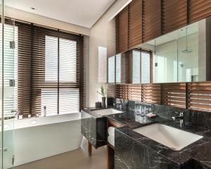 A bathroom at dusitD2 Davao
