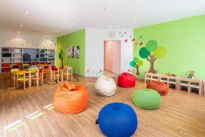 The kid's club at Hotel THe Volcán Lanzarote