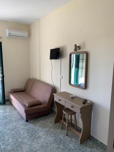 TV o dispositivi per l'intrattenimento presso Galini Apartments