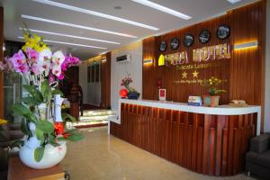 The lobby or reception area at Mira Hotel Quy Nhơn