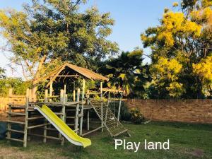 Children's play area at GREEN TREE B&B