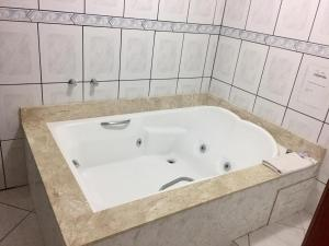 A bathroom at Hotel Carpevita