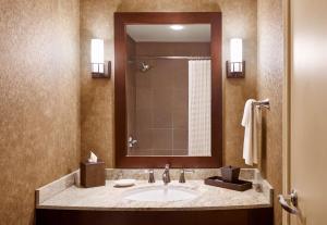 A bathroom at Hyatt Regency Bellevue