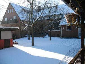 Forsthaus Schöntal during the winter