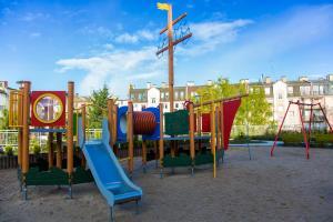 Children's play area at Wyspa Uznam - Róża Wiatrów