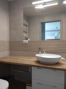 A bathroom at Apartament Cesarski Agnes