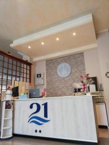 Hall o reception di Hotel 21 Riccione
