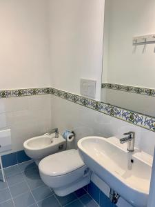 A bathroom at Angelina Apartments Amalfi Coast