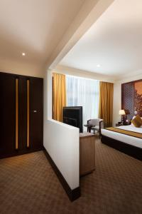 تلفاز و/أو أجهزة ترفيهية في Landmark Premier Hotel