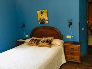 Cama o camas de una habitación en La Corrolada