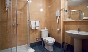 A bathroom at Hotel Globo