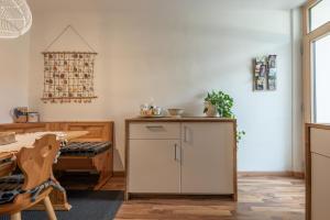 A kitchen or kitchenette at Villa Alberta