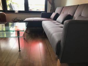 Ein Sitzbereich in der Unterkunft Apartment PRANINA Arcen