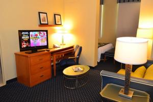 A television and/or entertainment center at Courtyard Aguadilla