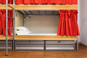 A bunk bed or bunk beds in a room at St Christopher's Inn Paris - Canal