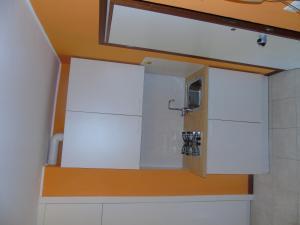 Koupelna v ubytování Residenza Grecale