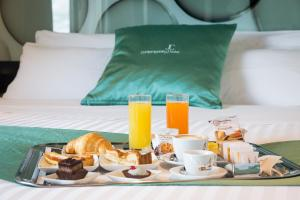Breakfast options available to guests at JC Hotel