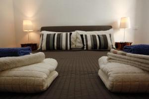 Cama ou camas em um quarto em Clemy In Rome