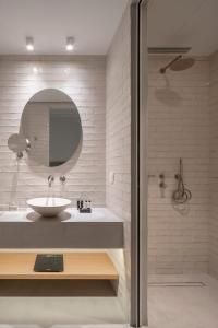 A bathroom at COCO-MAT Athens Jumelle
