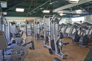 The fitness center and/or fitness facilities at Bourbon Barra da Tijuca Residence