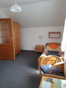 Postel nebo postele na pokoji v ubytování Penzion Andy