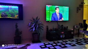 TV o dispositivi per l'intrattenimento presso Suite Meublée à Nouaceur