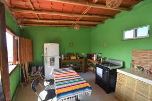 Cuisine ou kitchenette dans l'établissement Casa Almendro
