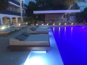 The swimming pool at or near Danae Hotel