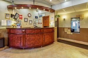 Лобби или стойка регистрации в Гостиница Регина