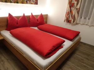 سرير أو أسرّة في غرفة في هاوس هول هيرتا