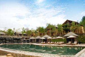 The swimming pool at or near Philea Resort & Spa